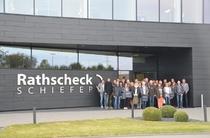 Gruppe bei Rathscheck Schiefer